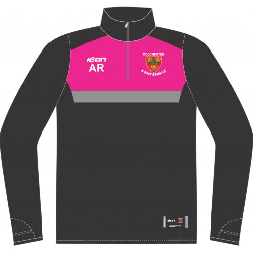 Colchester & East Essex CC Training Jacket - 1/4 Zip