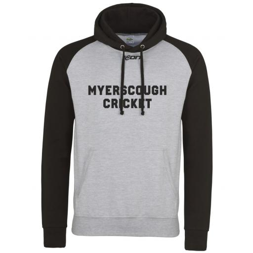 Myerscough Cricket College Leisure - Baseball Hoodie