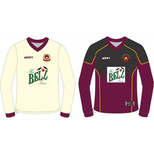 Bosbury CC Reversible Cricket Sweater - Long Sleeve