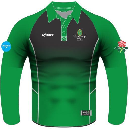 Myerscough Cricket (Preston) Long Sleeve T20 Shirt
