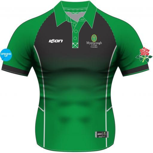 Myerscough Cricket (Preston) Short Sleeve T20 Shirt - Ladies