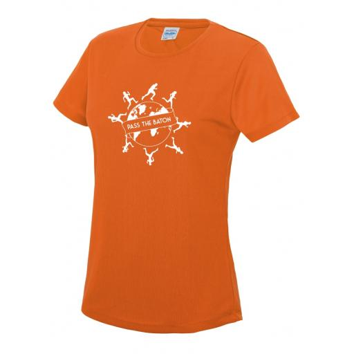 Pass The Baton women's cool T