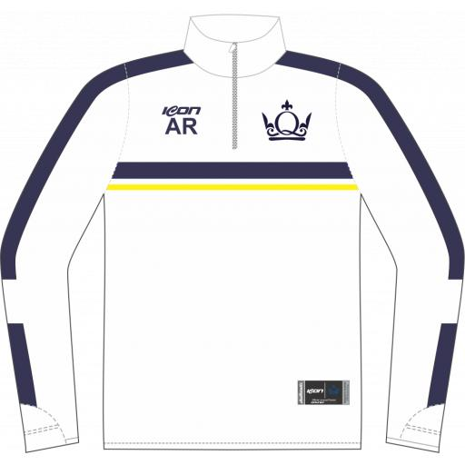 QMUL Sublimated ¼ Zip Midlayer