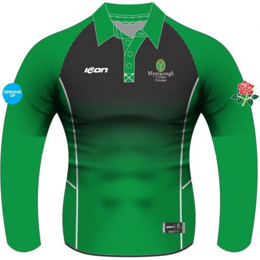 Myerscough Cricket (Preston) Long Sleeve T20 Shirt - Ladies