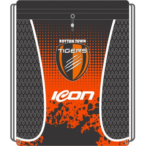Royton Town Tigers FC Sublimated Gym / Accessory Bag