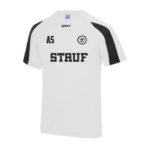 Wardle FC Club Contrast training T-shirt - White