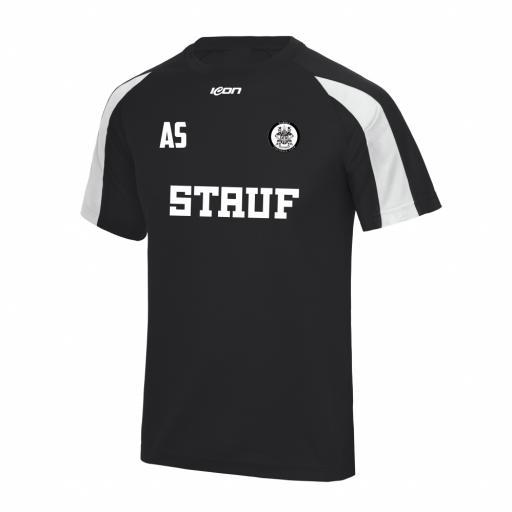 Wardle FC Club Contrast training T-shirt - Black