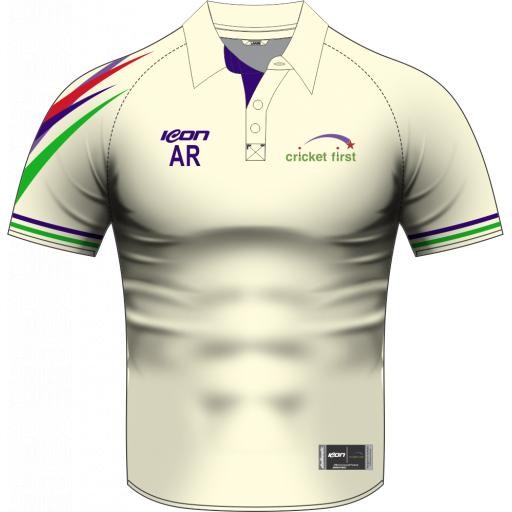 Cricket First Sublimated Cricket Shirt - Short Sleeve