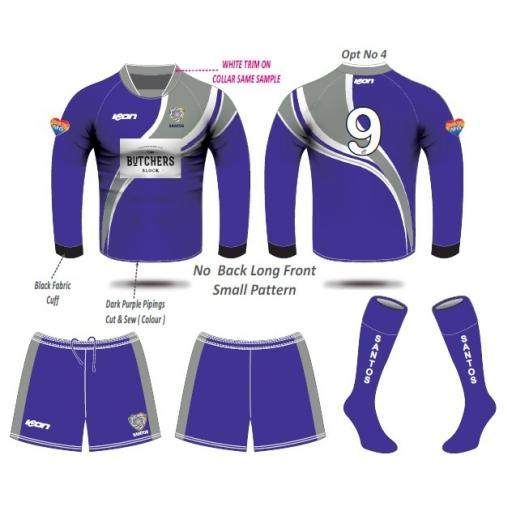 Santos AFC Under 13's Outfield Kit