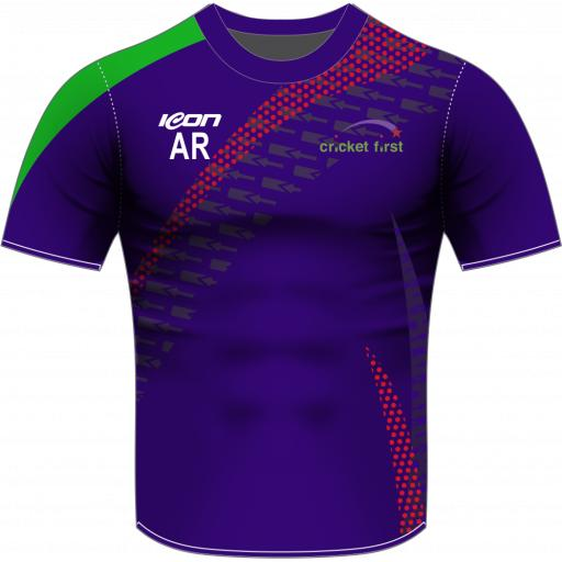 Cricket First Sublimated Training T-shirt