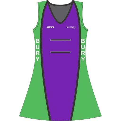 Bury Netball Junior Match Dress