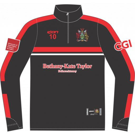 University of South Wales Cricket Training Jacket - 1/4 Zip