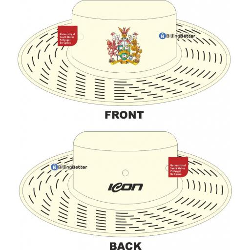 University of South Wales Cricket Sun Hat