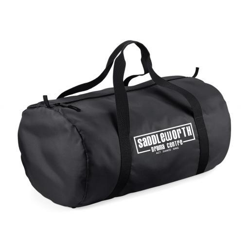 Saddleworth Drama Centre Packaway Barrell Bag