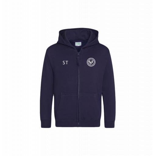 St John's CE Thornham Primary Kids zipped hoodie