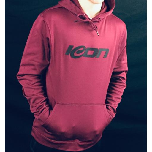 Icon Performance 3D Print Hoodie