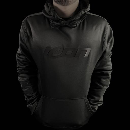 Icon Performance 3D Print Hoodie - Kids